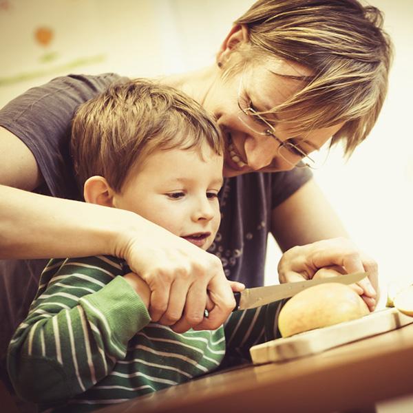 Ergotherapeutische Behandlung von Kindern